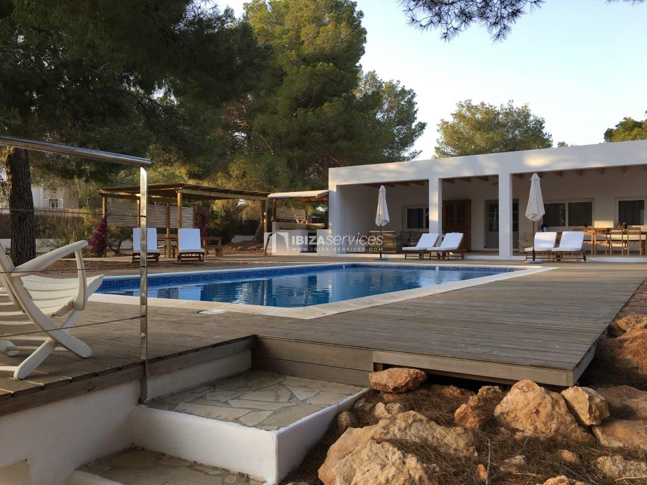 Holiday rental Cala Jondal charming villa for rent perspectiva 24