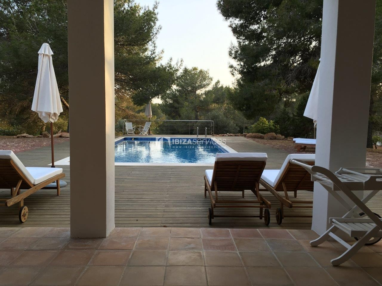 Holiday rental Cala Jondal charming villa for rent perspectiva 29