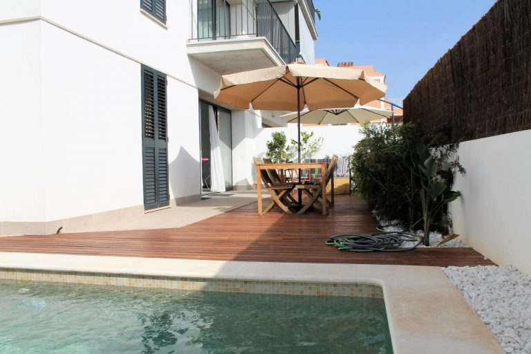 Seasonal rental Jesus 3 bedroom apartment with private pool