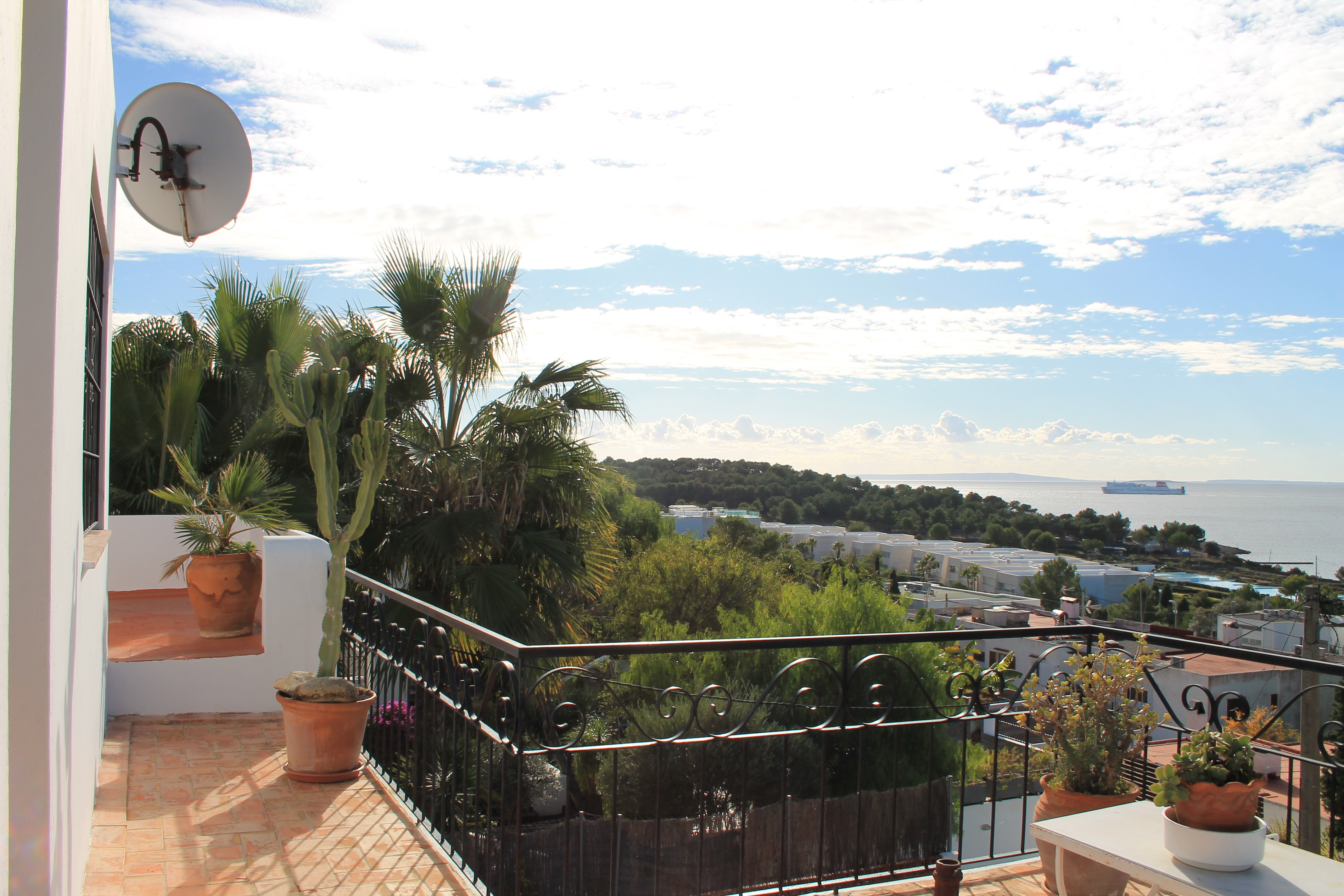 Rent house Ibiza Talamanca for the season perspectiva 1