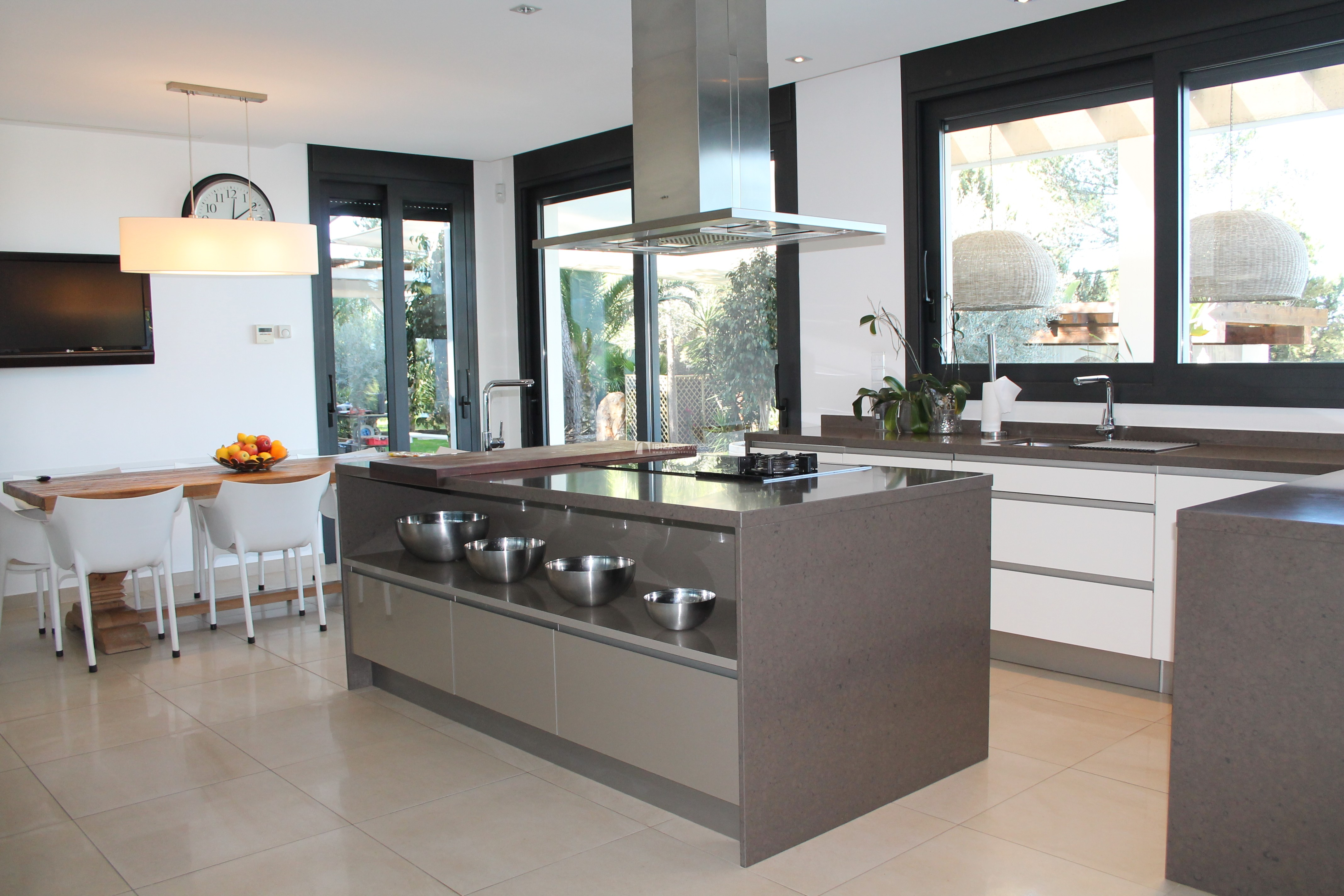 Modern decorated Villa great views Sant Augustin perspectiva 2