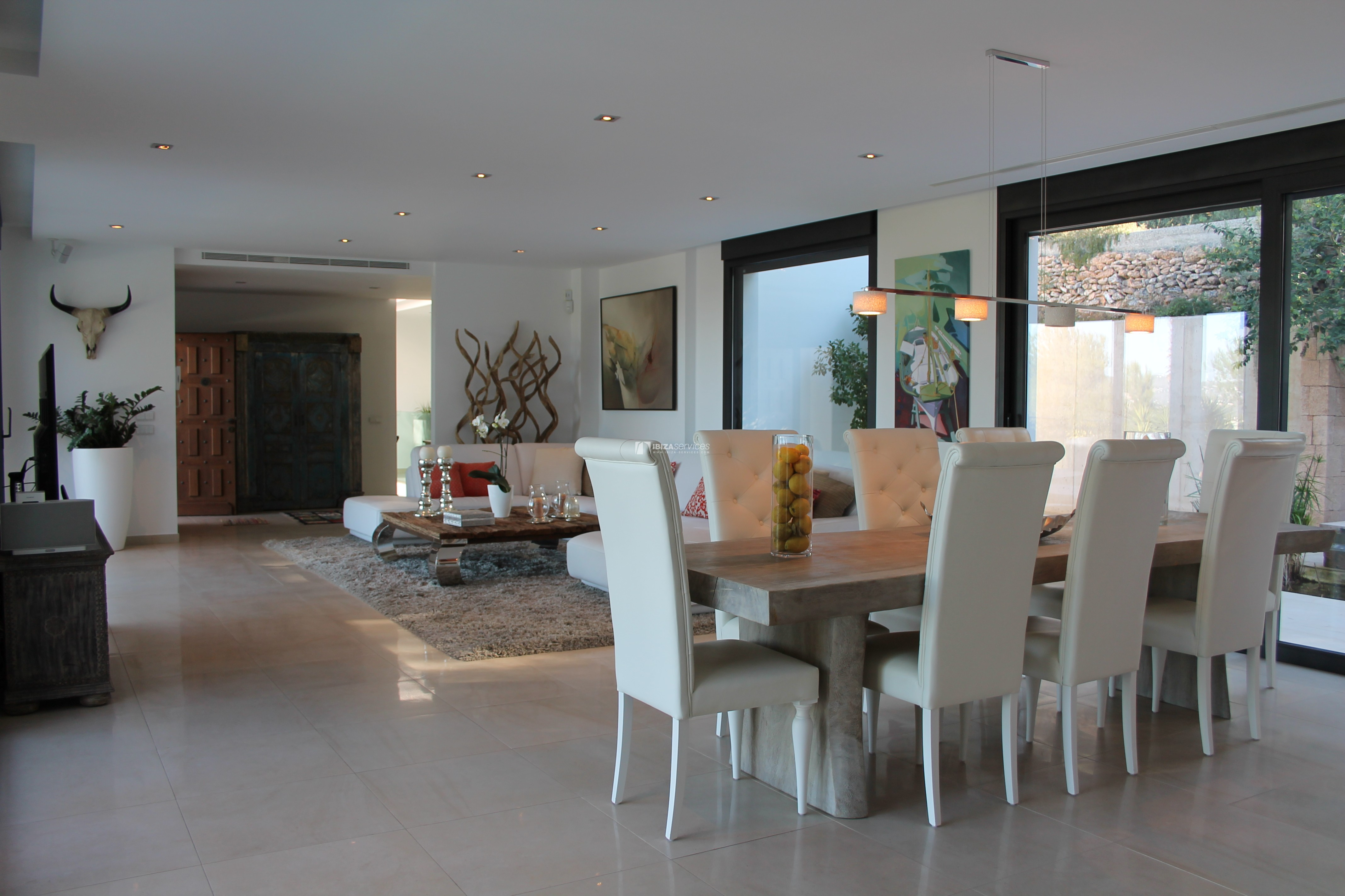 Modern decorated Villa great views Sant Augustin perspectiva 8