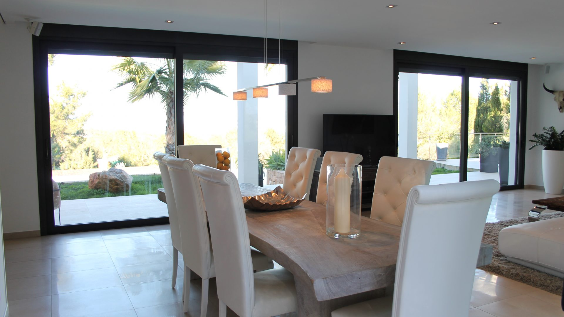Modern decorated Villa great views Sant Augustin