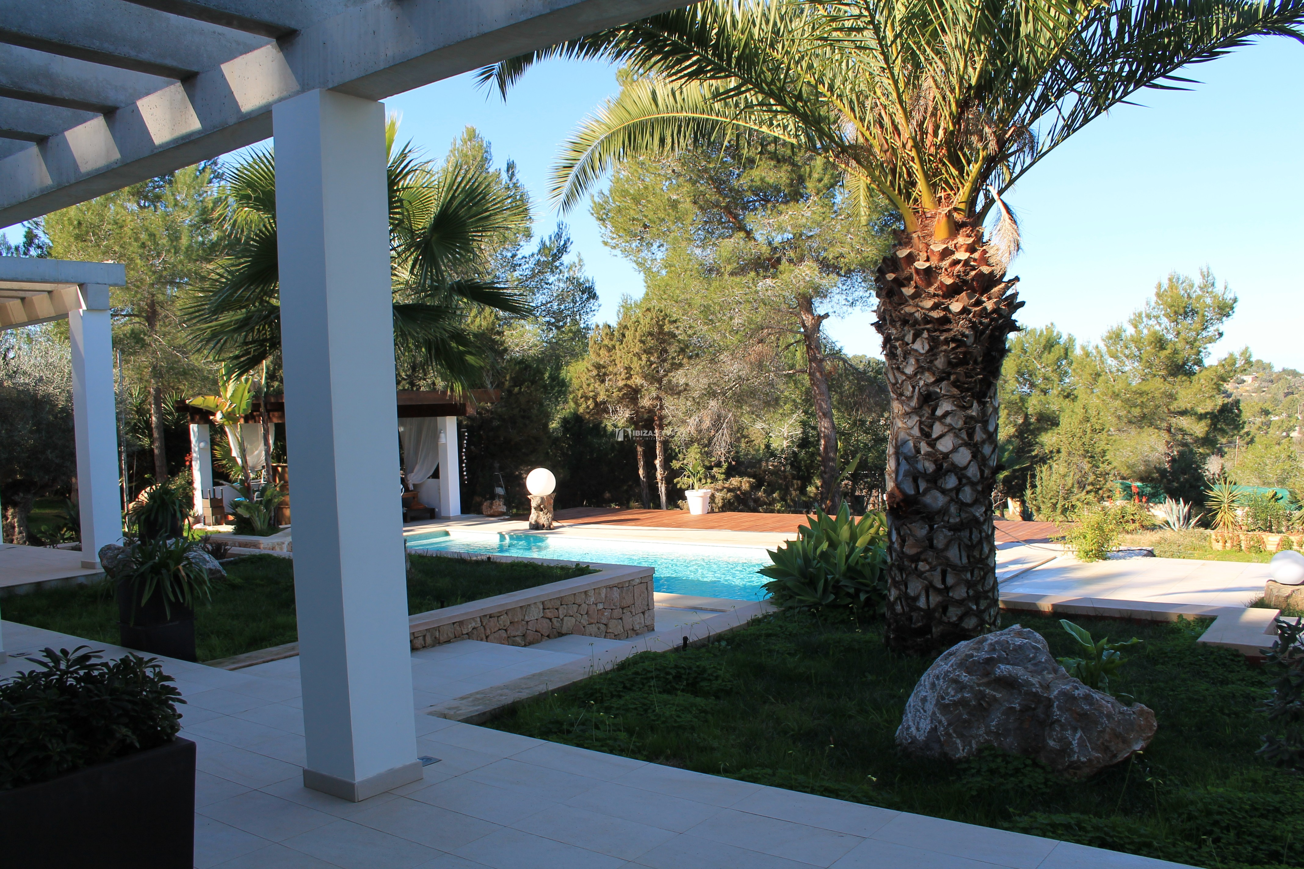 Modern decorated Villa great views Sant Augustin perspectiva 27
