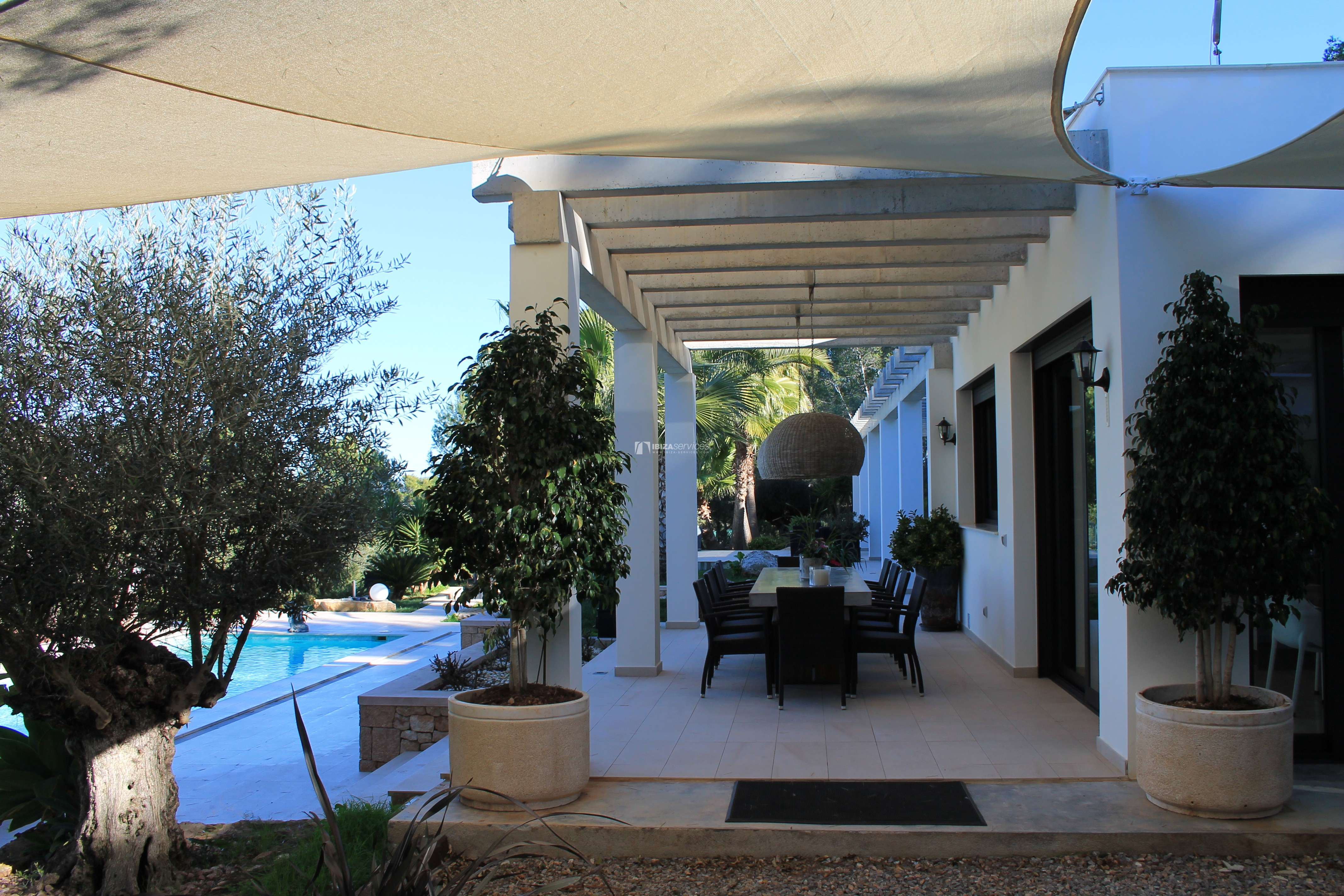 Modern decorated Villa great views Sant Augustin perspectiva 30