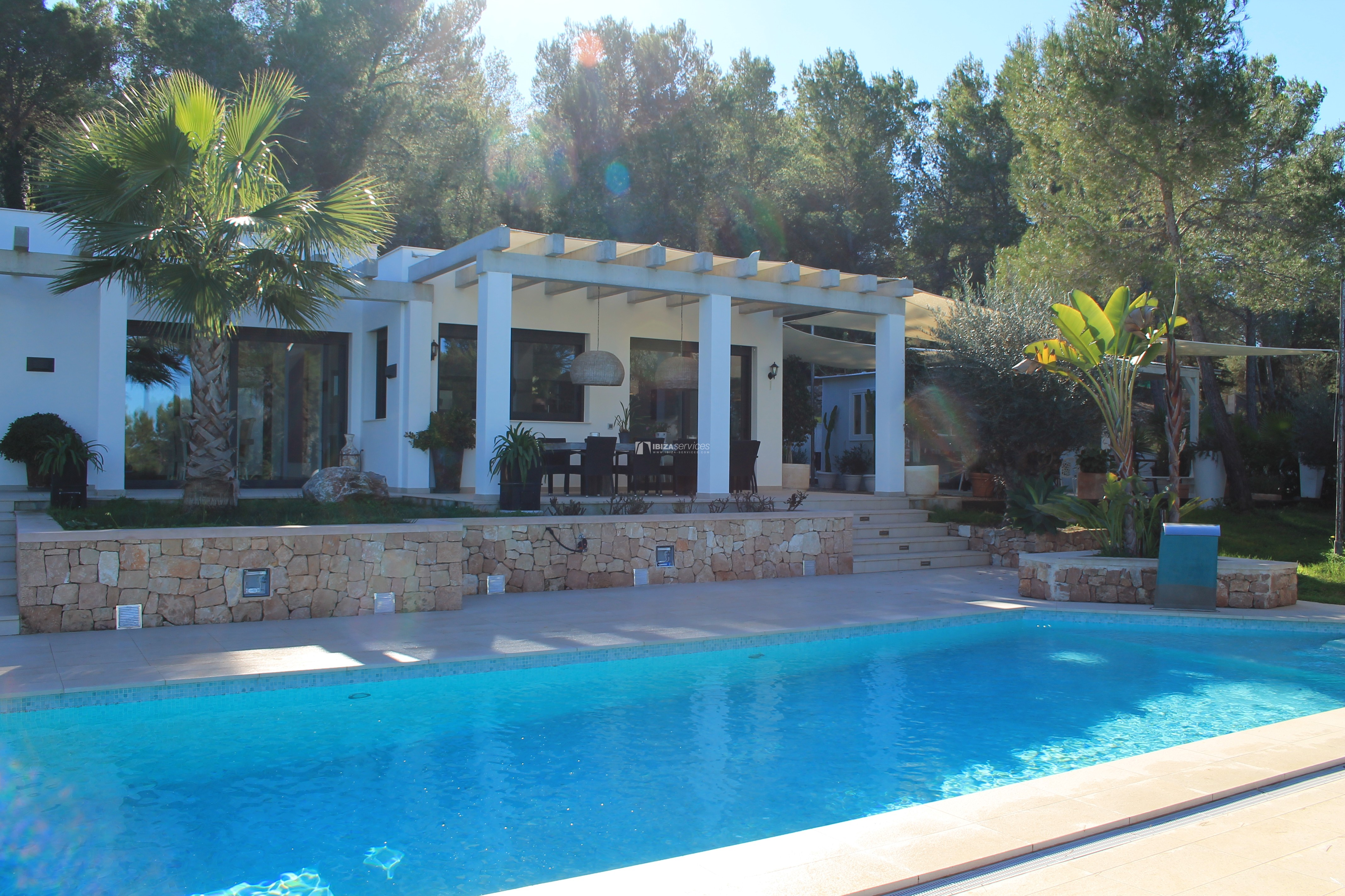 Modern decorated Villa great views Sant Augustin perspectiva 31