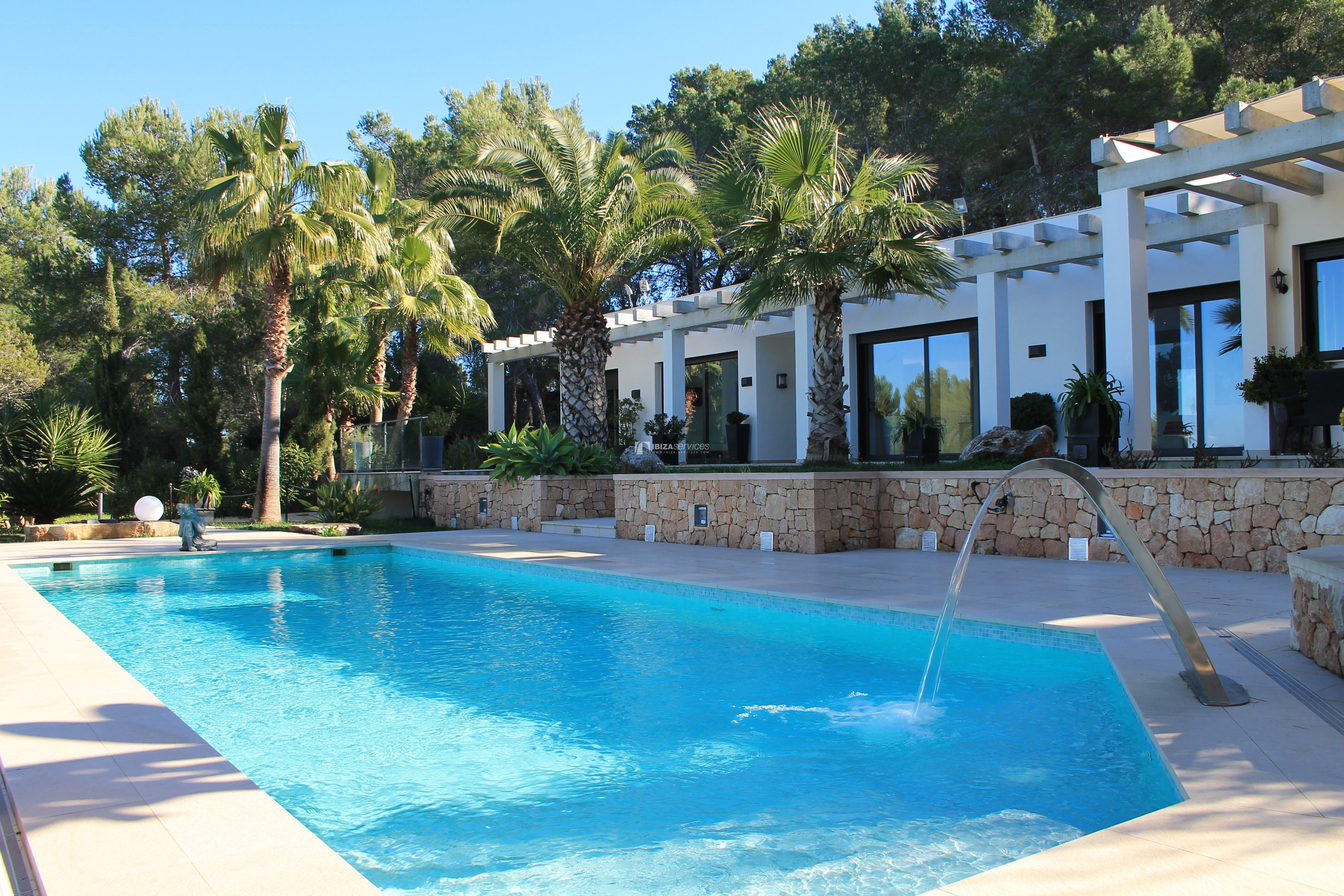 Modern decorated Villa great views Sant Augustin perspectiva 33