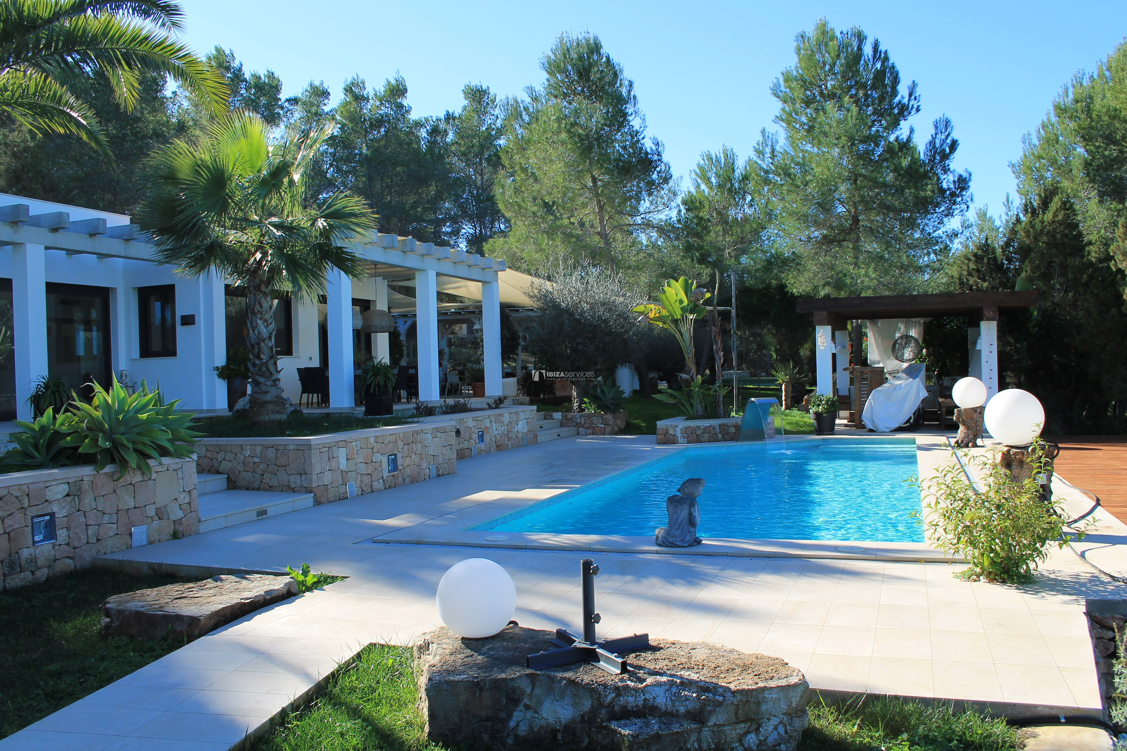 Modern decorated Villa great views Sant Augustin perspectiva 34
