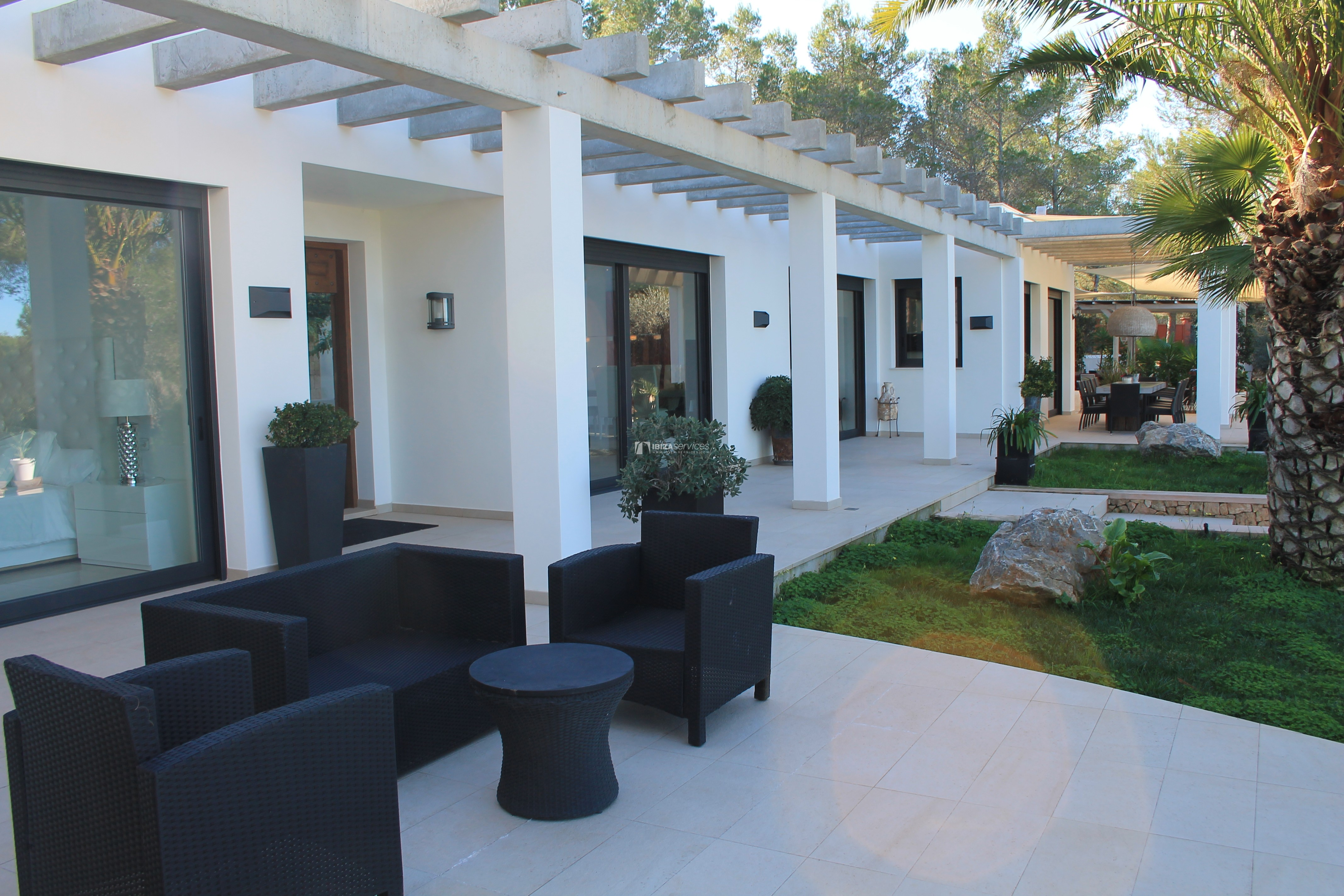 Modern decorated Villa great views Sant Augustin perspectiva 36