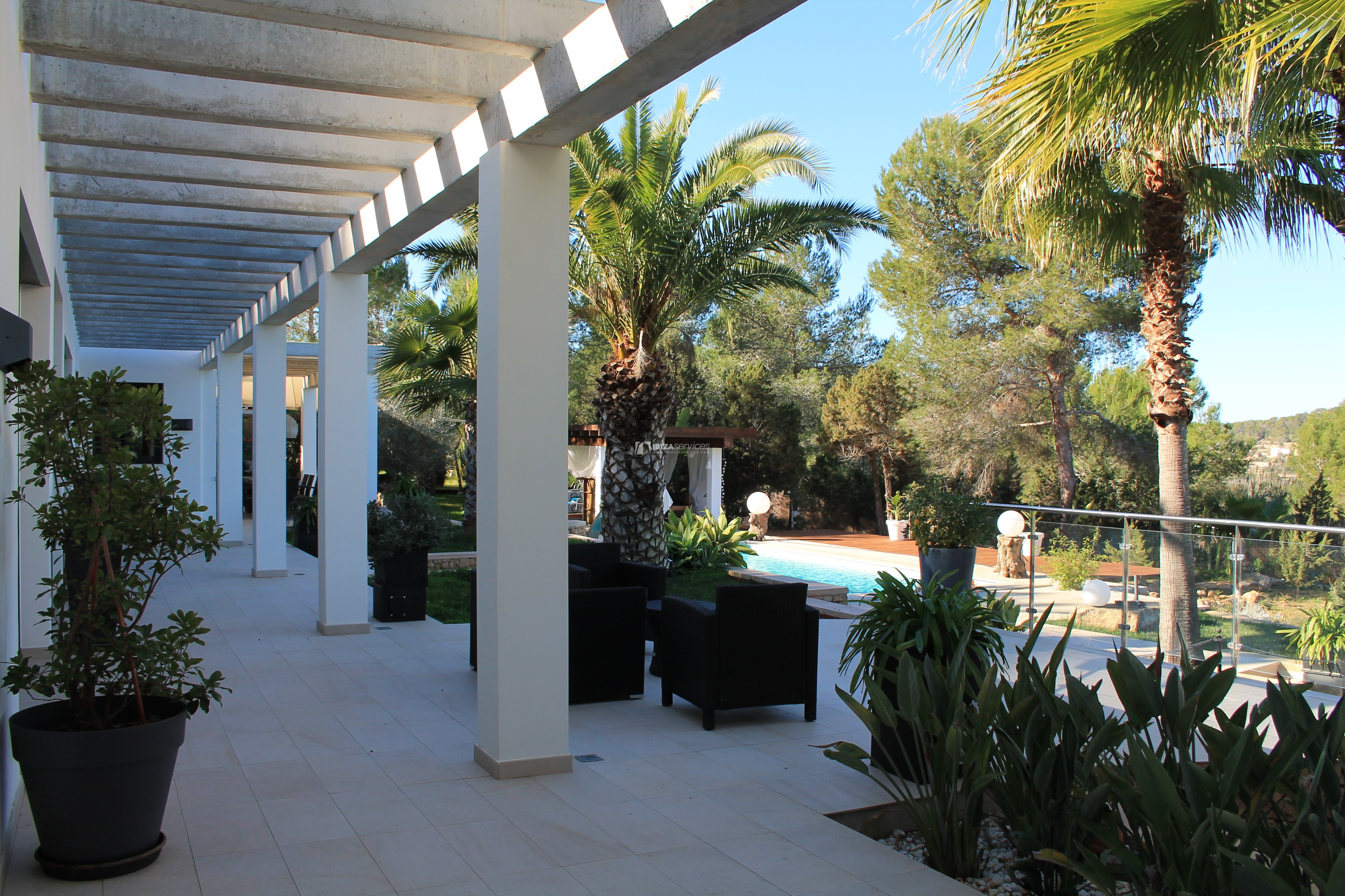 Modern decorated Villa great views Sant Augustin perspectiva 38