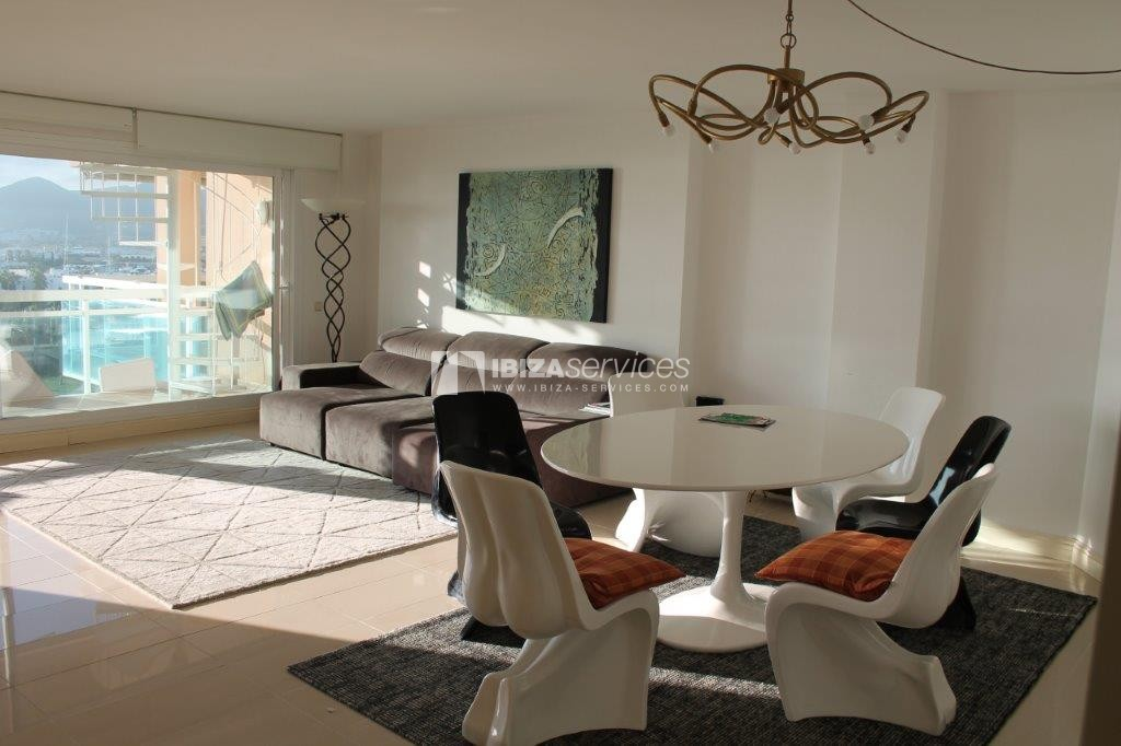 yearly rental penthouse apartment 4 bedrooms paseo maritimo Ibiza perspectiva 32