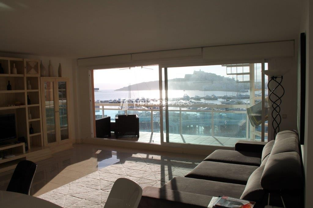 yearly rental penthouse apartment 4 bedrooms paseo maritimo Ibiza perspectiva 33
