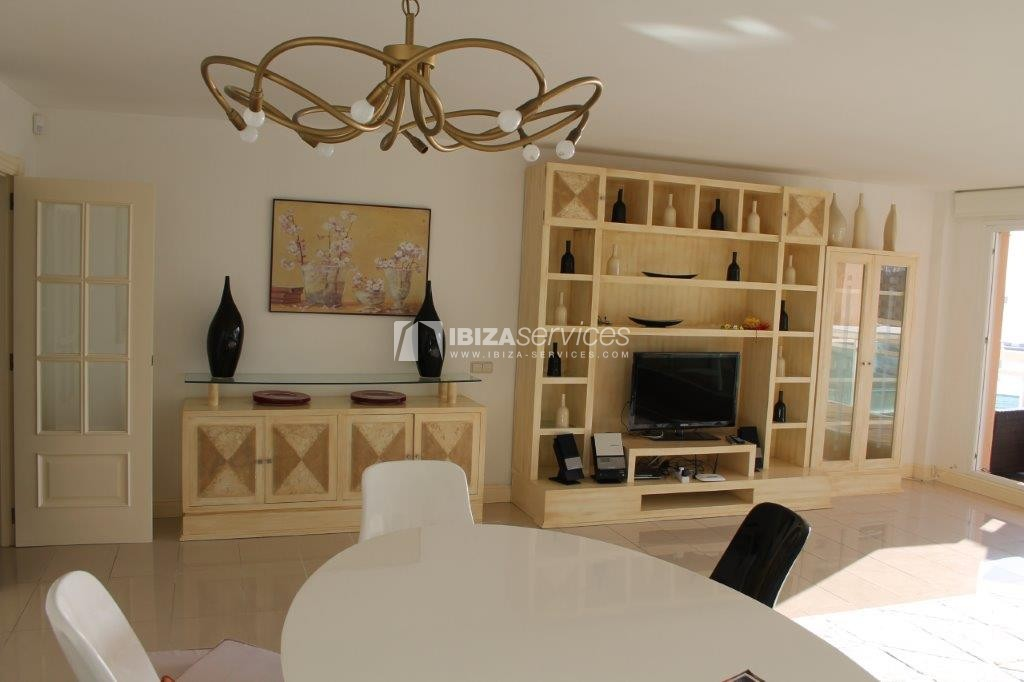 yearly rental penthouse apartment 4 bedrooms paseo maritimo Ibiza perspectiva 35