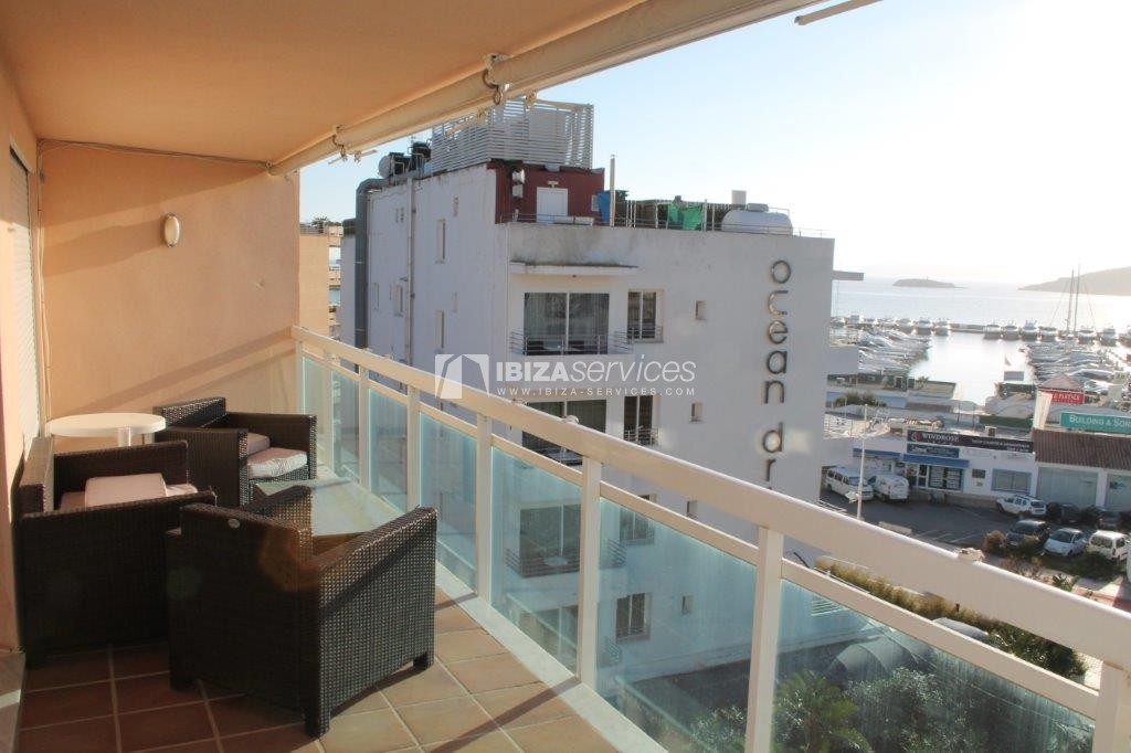 yearly rental penthouse apartment 4 bedrooms paseo maritimo Ibiza perspectiva 36