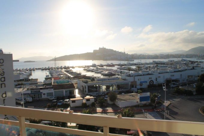 yearly rental  penthouse apartment 4 bedrooms paseo maritimo Ibiza