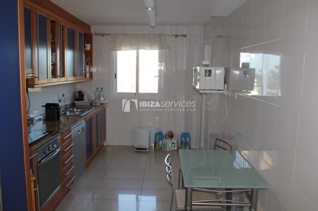 yearly rental penthouse apartment 4 bedrooms paseo maritimo Ibiza perspectiva 7