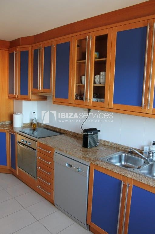 yearly rental penthouse apartment 4 bedrooms paseo maritimo Ibiza perspectiva 10