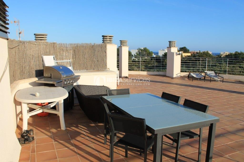 yearly rental penthouse apartment 4 bedrooms paseo maritimo Ibiza perspectiva 23