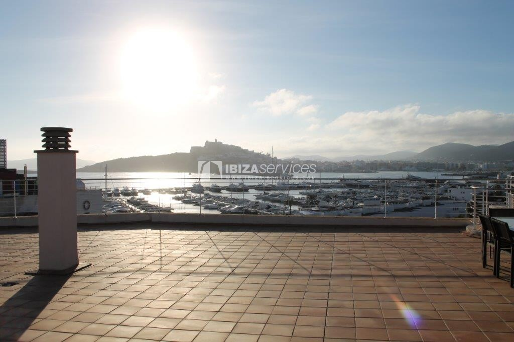 yearly rental penthouse apartment 4 bedrooms paseo maritimo Ibiza perspectiva 25