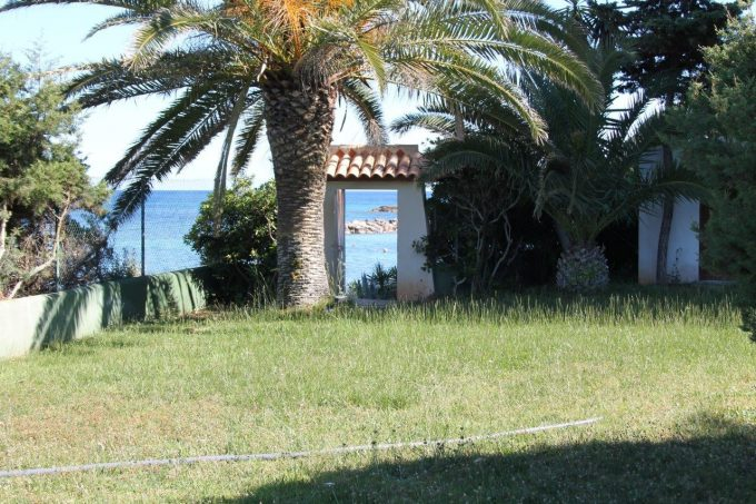 Colonial villa rent facing the sea Santa Eulalia