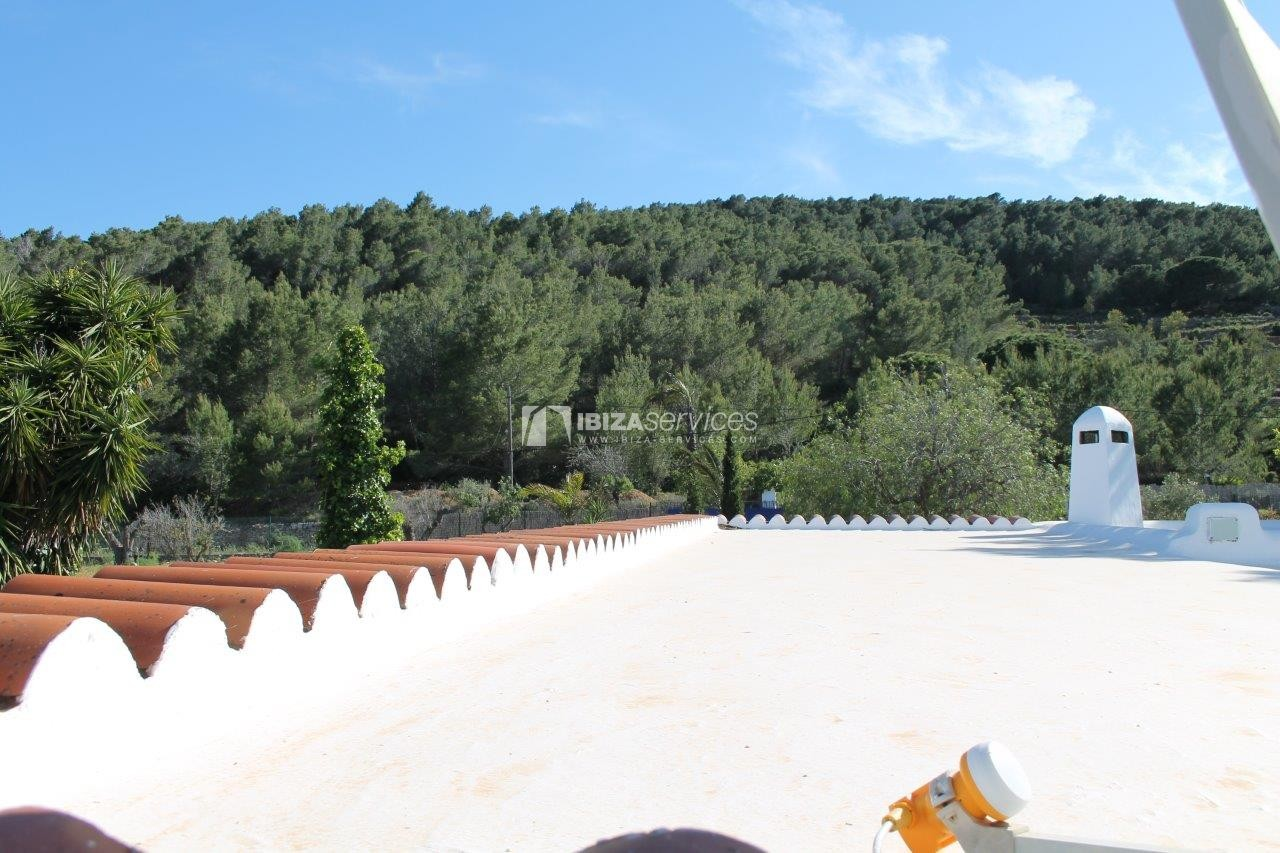 Rustic finca large plot and pool for sale Sant Mateo perspectiva 9