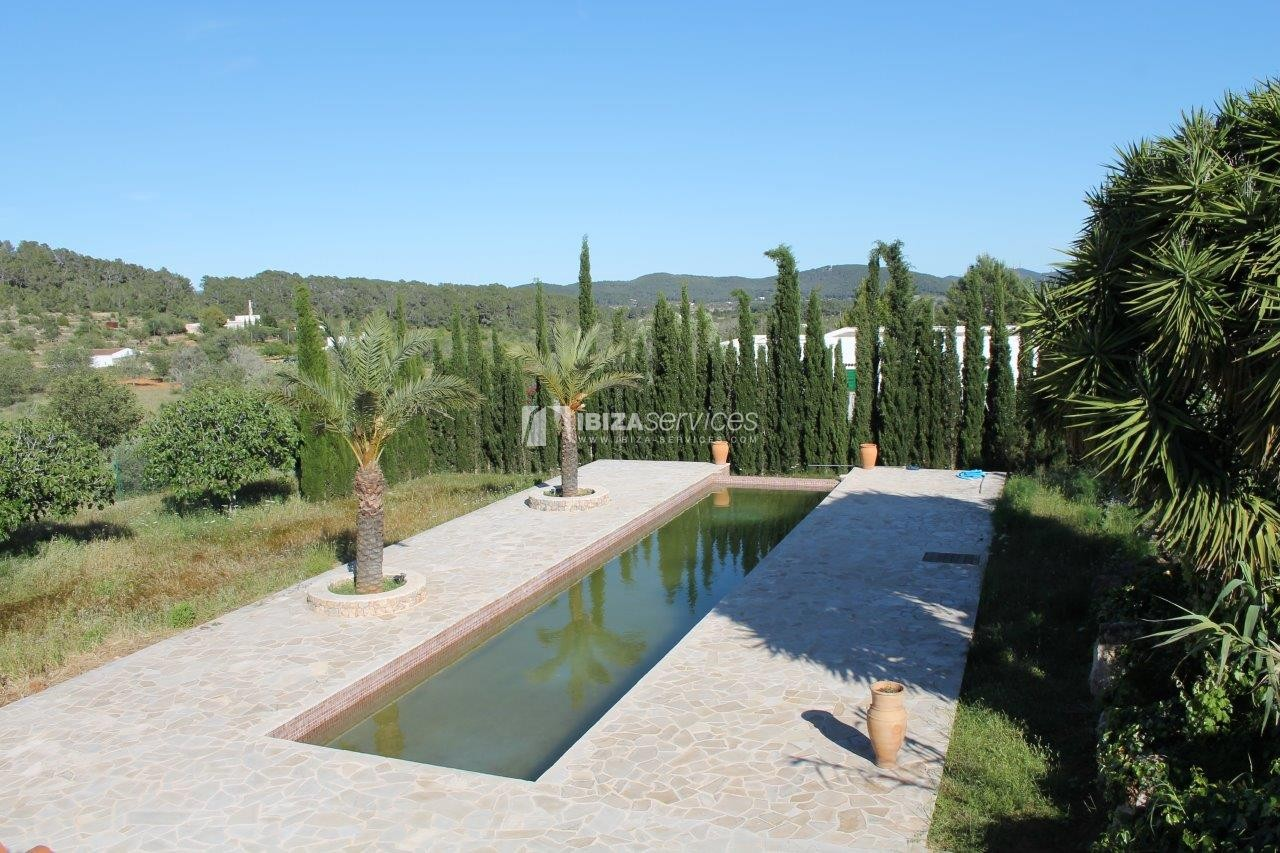 Rustic finca large plot and pool for sale Sant Mateo perspectiva 11