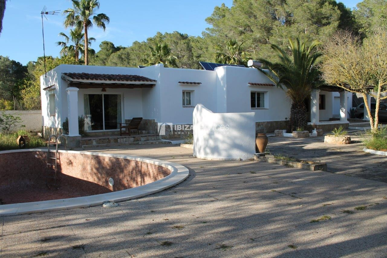 House for rent with tennis court in Sant Rafael perspectiva 5