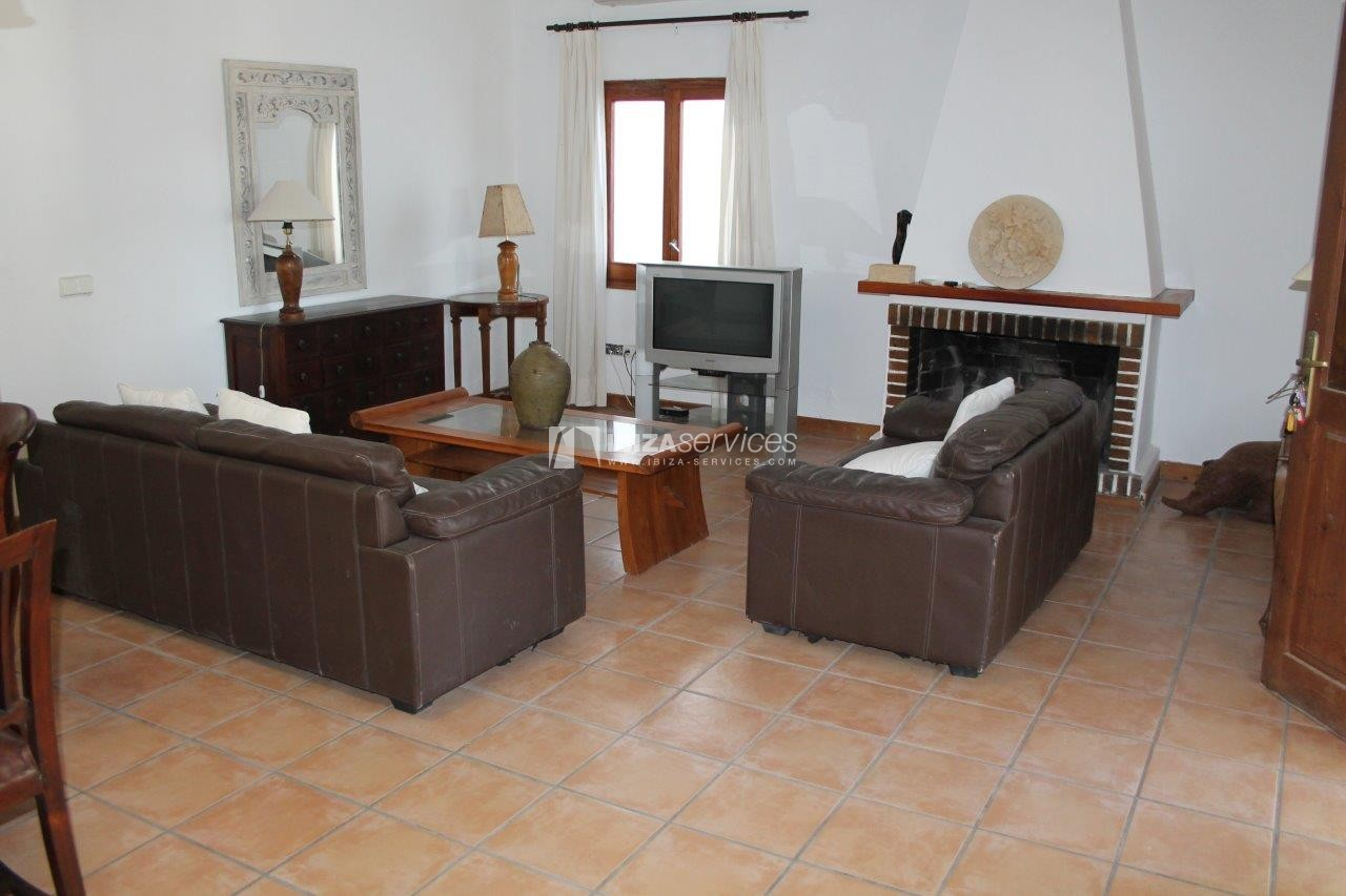 House for rent with tennis court in Sant Rafael perspectiva 7