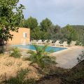 House for yearly rent on the road of San Jose to Cala Tarida