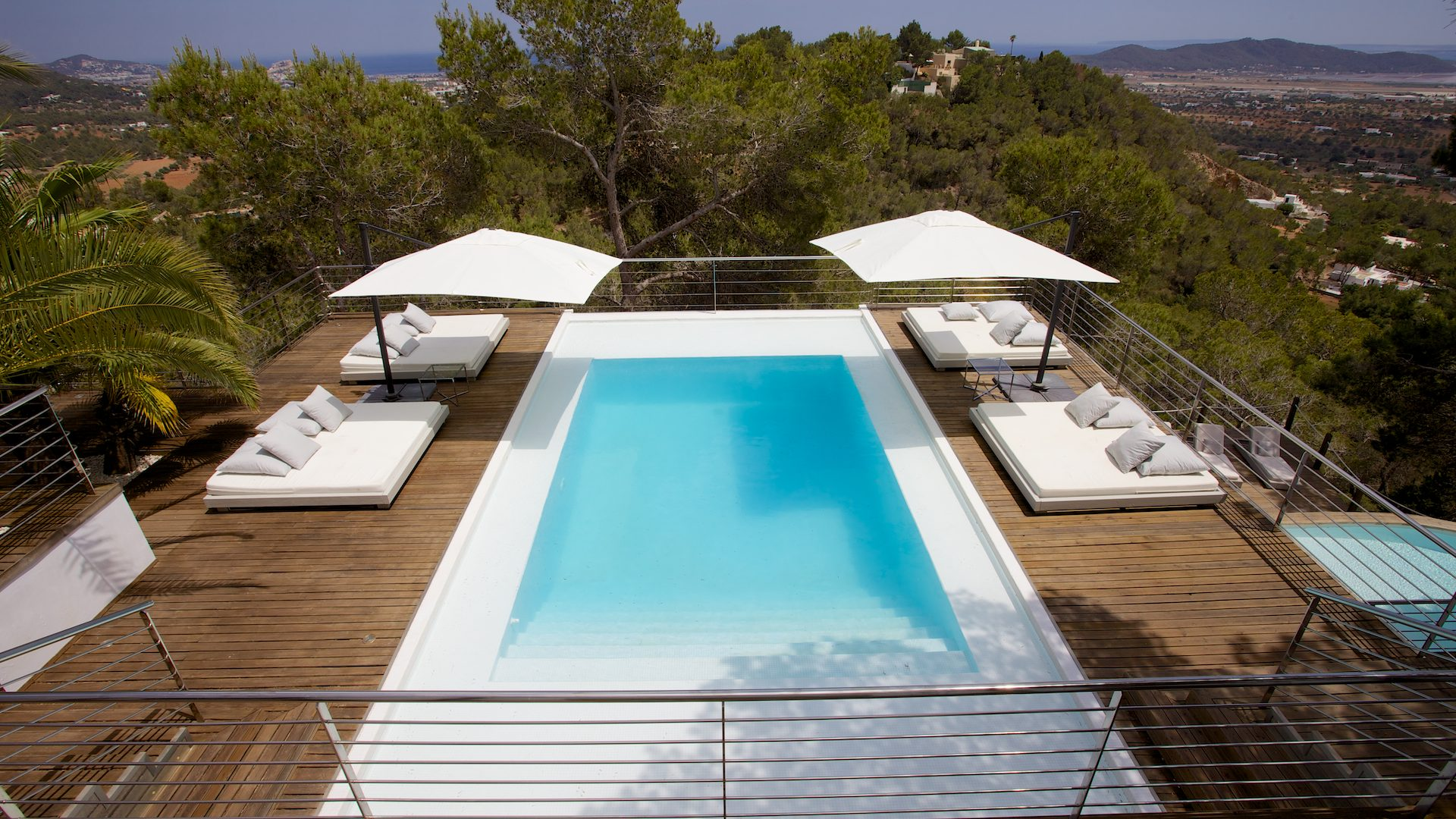 Luxury 9 bedroom villa for rent close to Ibiza