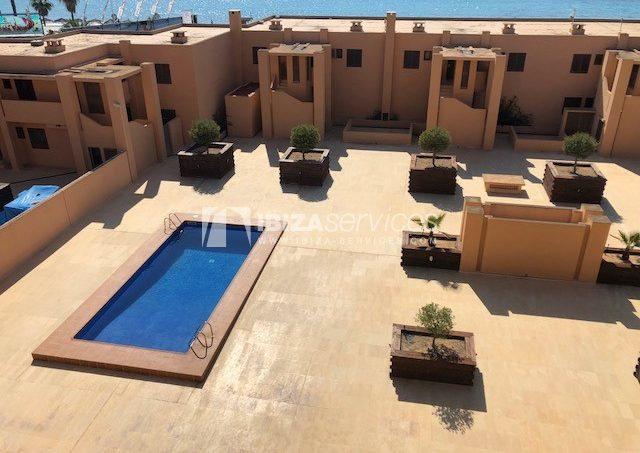 Sea view 5 bedroom apartment Playa den Bossa