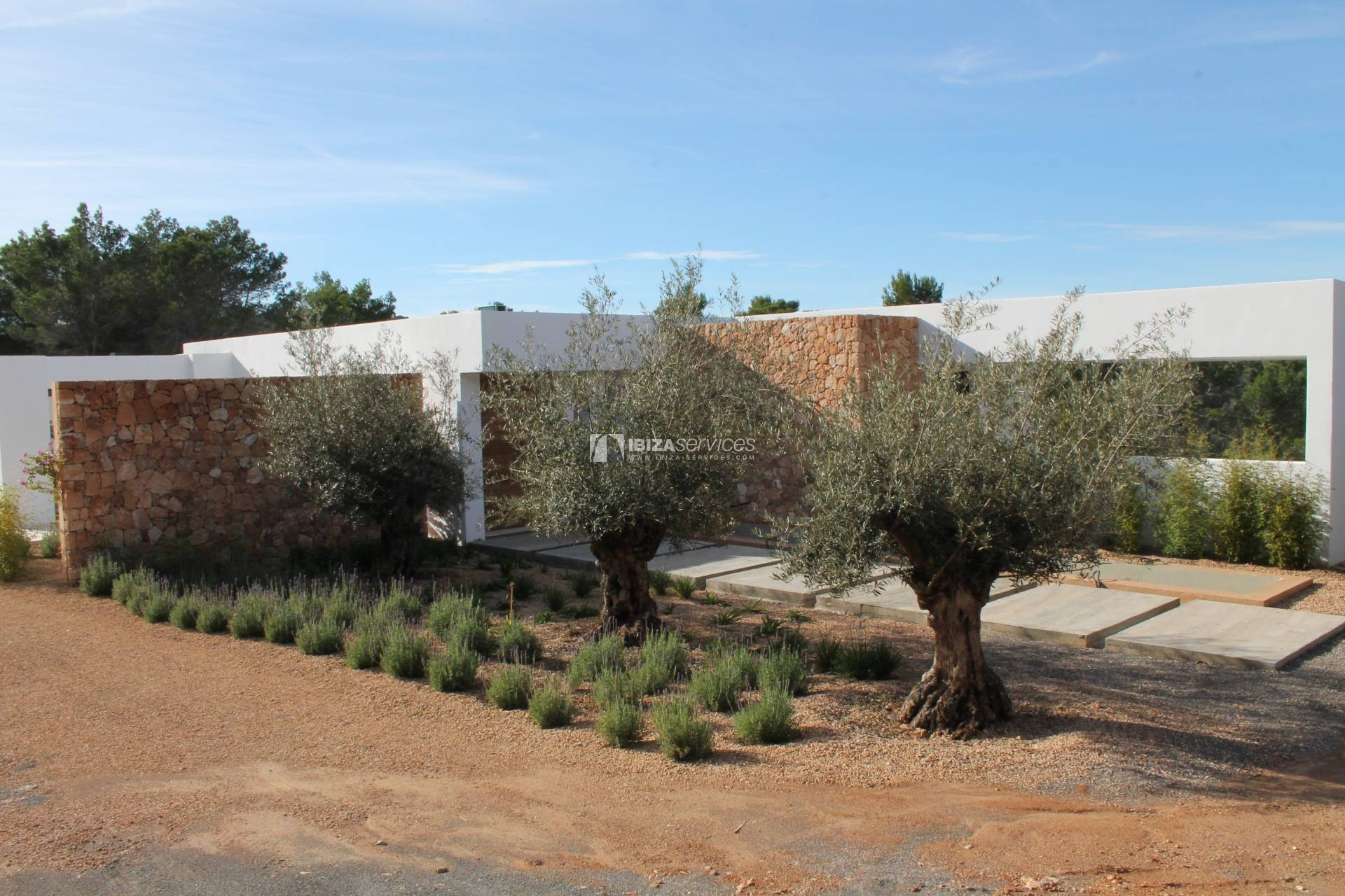 Buy brand new 5 bedroom modern villa in San Agustin Ibiza. perspectiva 8