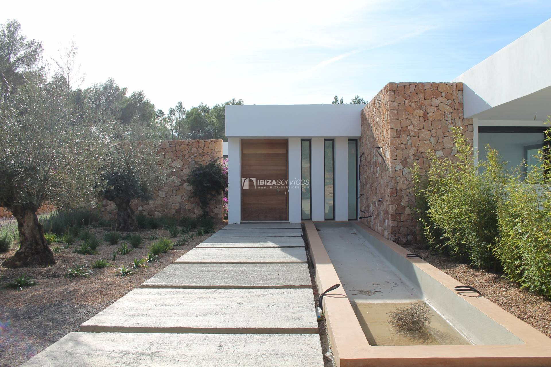 Buy brand new 5 bedroom modern villa in San Agustin Ibiza. perspectiva 7