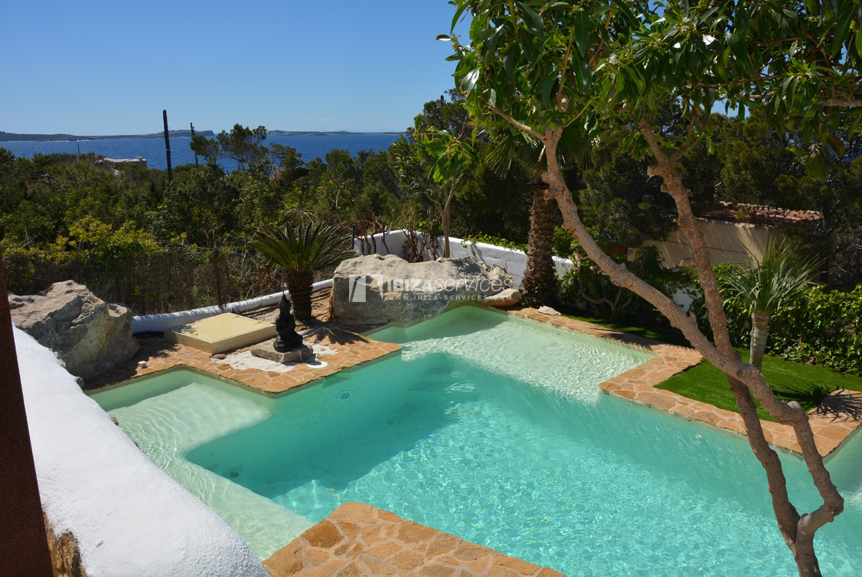 Villa with stunning sea and sunset views near Cala Gracio perspectiva 5