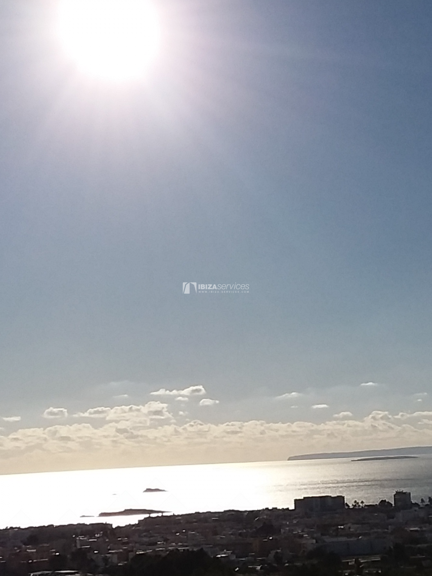Buy building land Ibiza sea view with license perspectiva 3