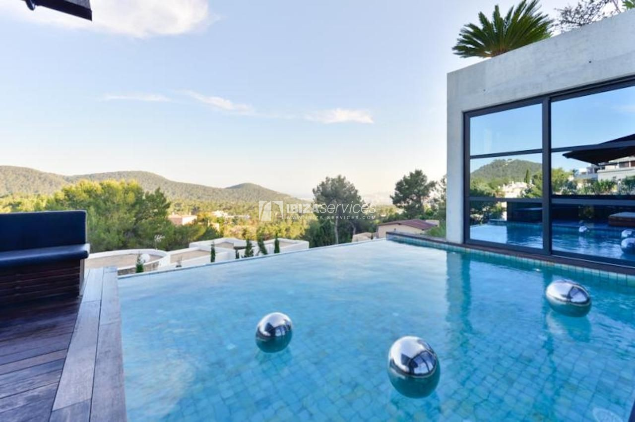 Can Furnet luxury  modern 6 bedroom villa holiday rental Ibiza perspectiva 27
