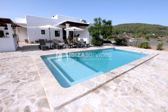 Rustic villa San Miguel 1 km from the beach perspectiva 5