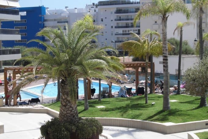 Nueva Ibiza yearly rental 3 bedroom apartment paseo maritime