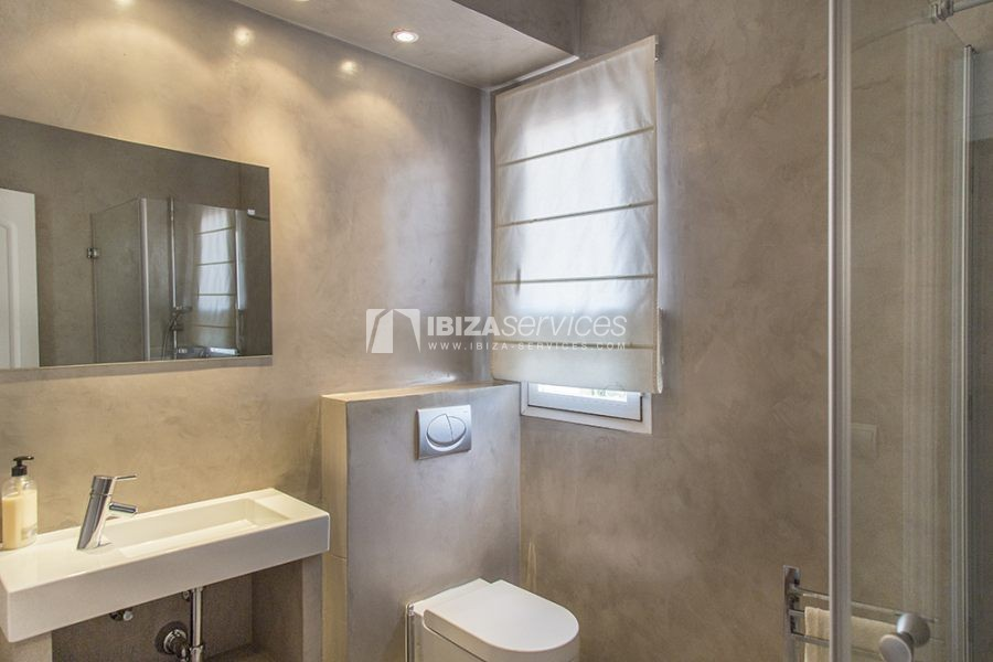 Seasonal rent semi-detached house view to Es Vedra perspectiva 8