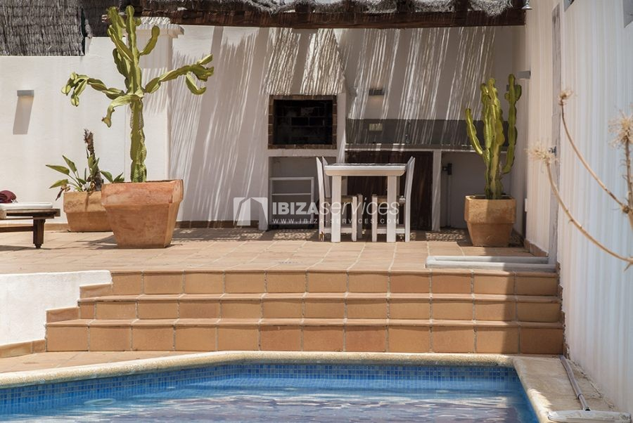 Seasonal rent semi-detached house view to Es Vedra perspectiva 5