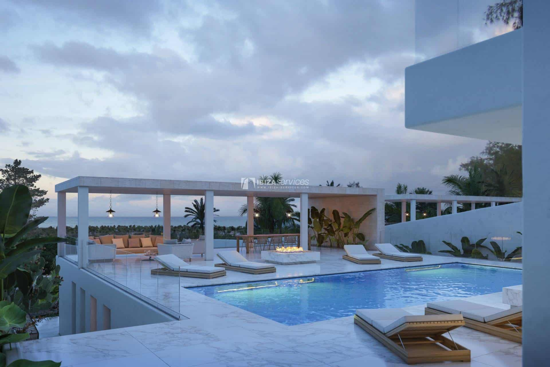 For Sale Cap Martinet Talamanca urban land with project perspectiva 2