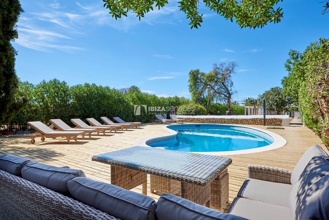 7  bedrooms villa for rent next to Ibiza city perspectiva 26
