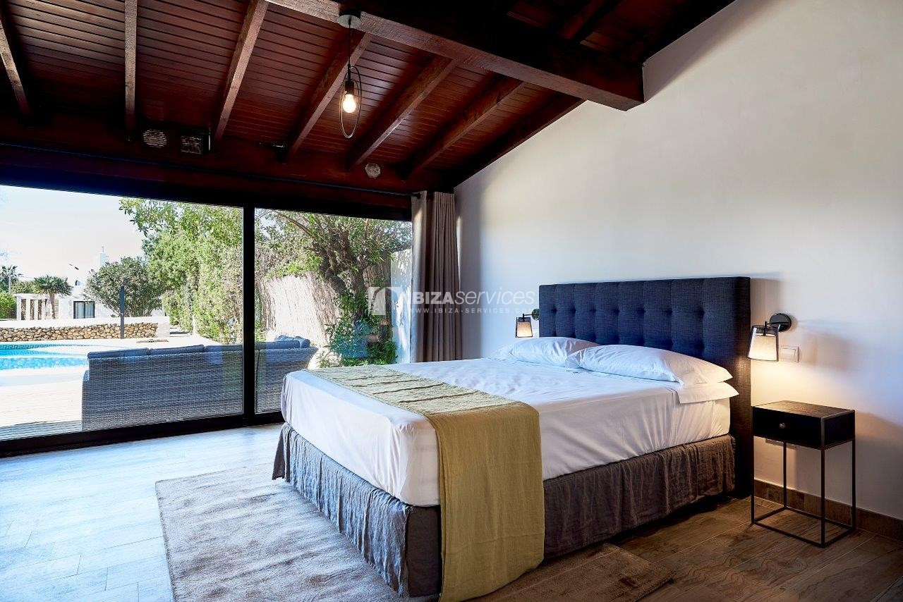 7  bedrooms villa for rent next to Ibiza city perspectiva 28