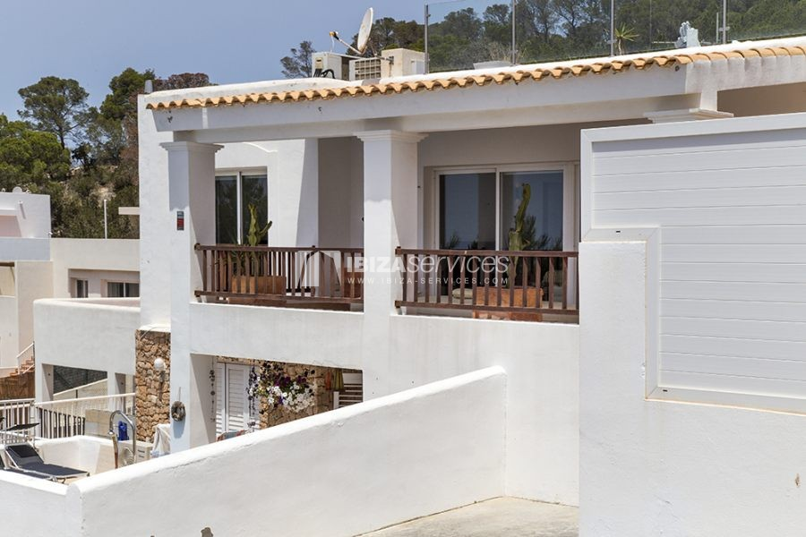 Seasonal rent semi-detached house view to Es Vedra perspectiva 15