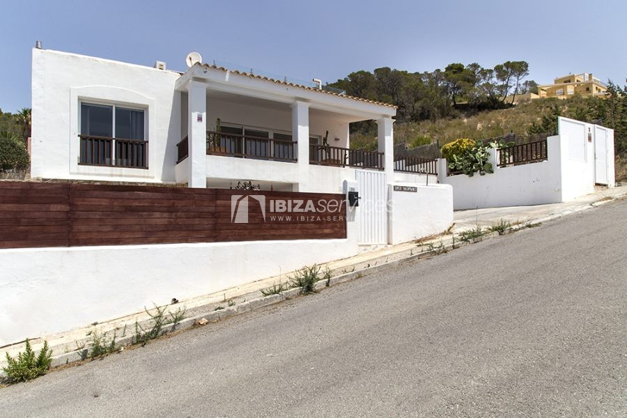 Seasonal rent semi-detached house view to Es Vedra perspectiva 14