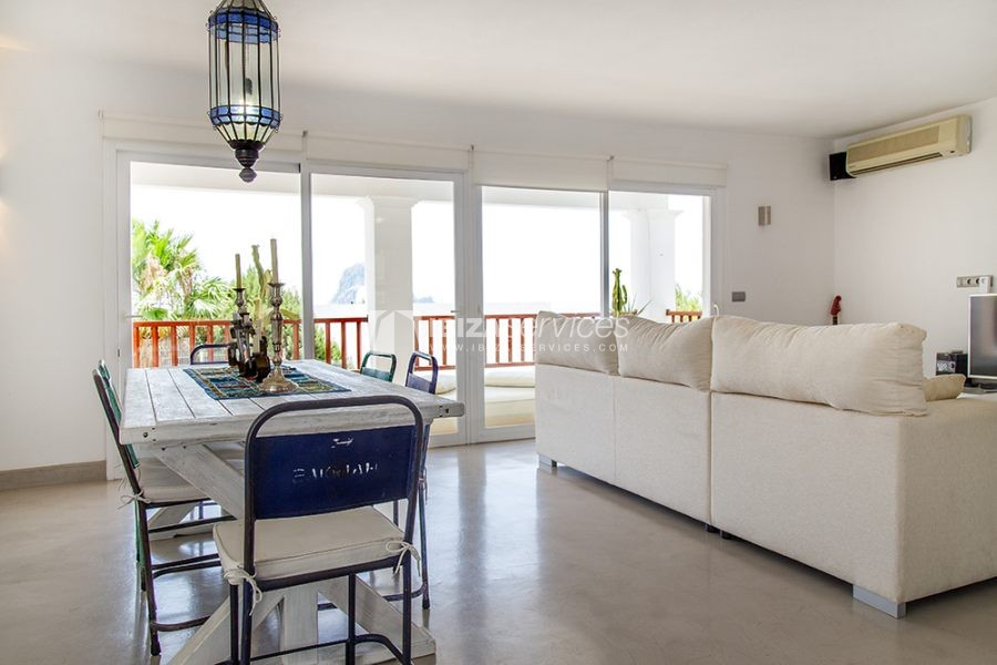 Seasonal rent semi-detached house view to Es Vedra perspectiva 16