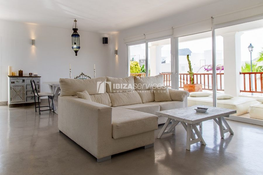 Seasonal rent semi-detached house view to Es Vedra perspectiva 17