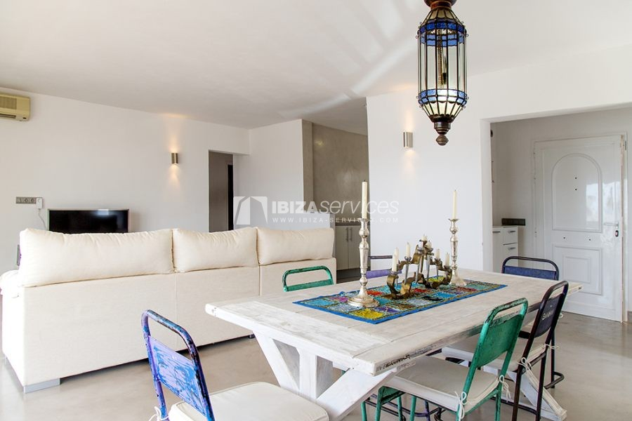Seasonal rent semi-detached house view to Es Vedra perspectiva 24