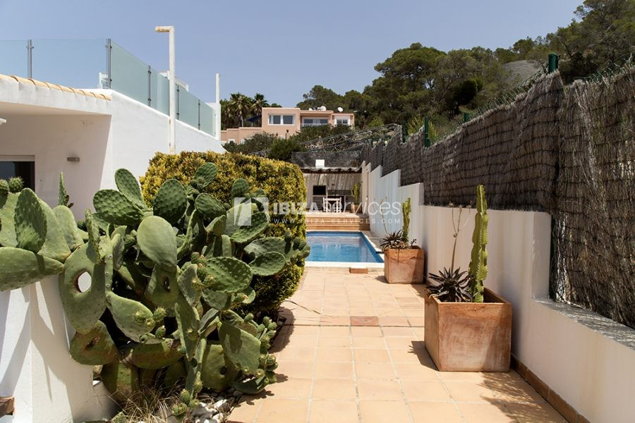 Seasonal rent semi-detached house view to Es Vedra perspectiva 23