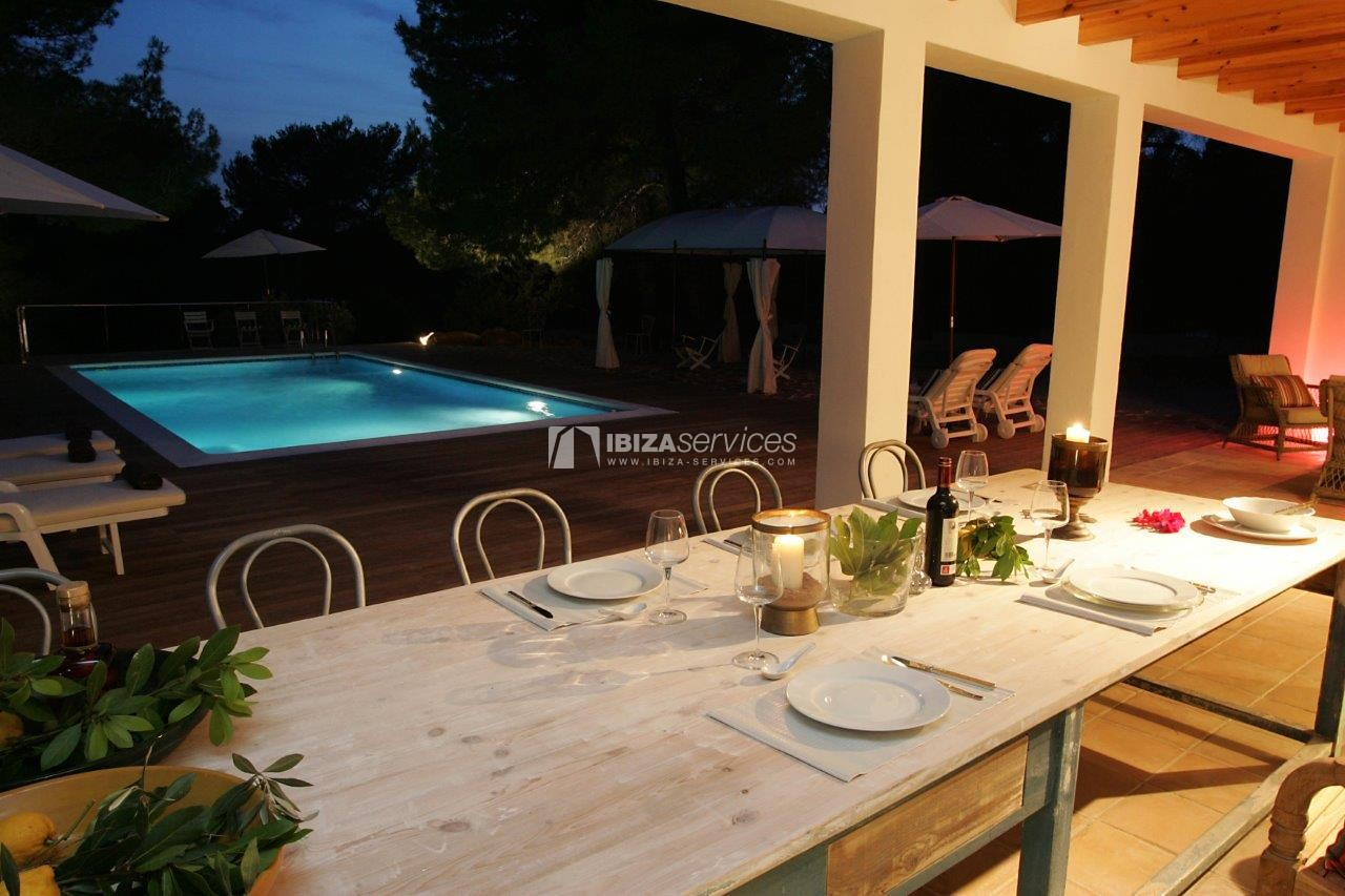 Holiday rental Cala Jondal charming villa for rent perspectiva 17